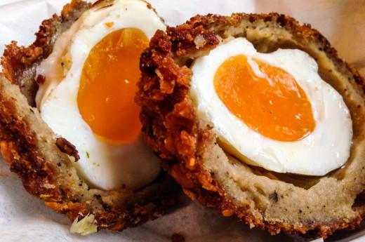 Scottish egg från Duke of York