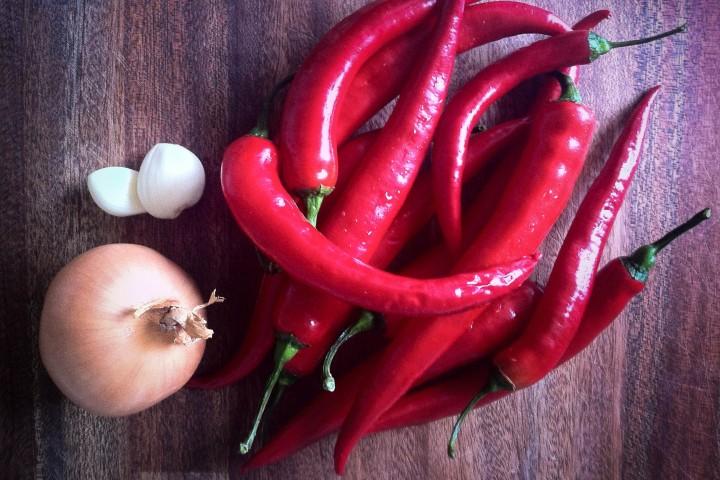 Hemgjord hot sauce