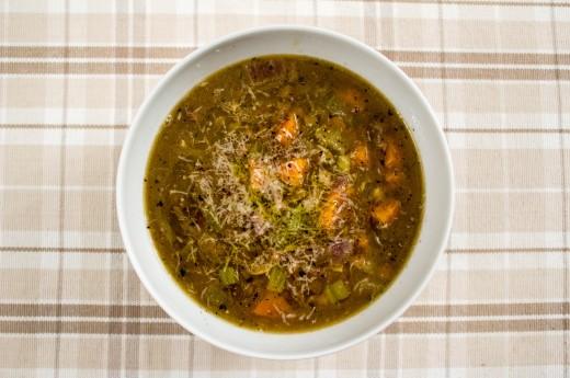 Fransk linssoppa