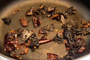 Rosta torkad chili