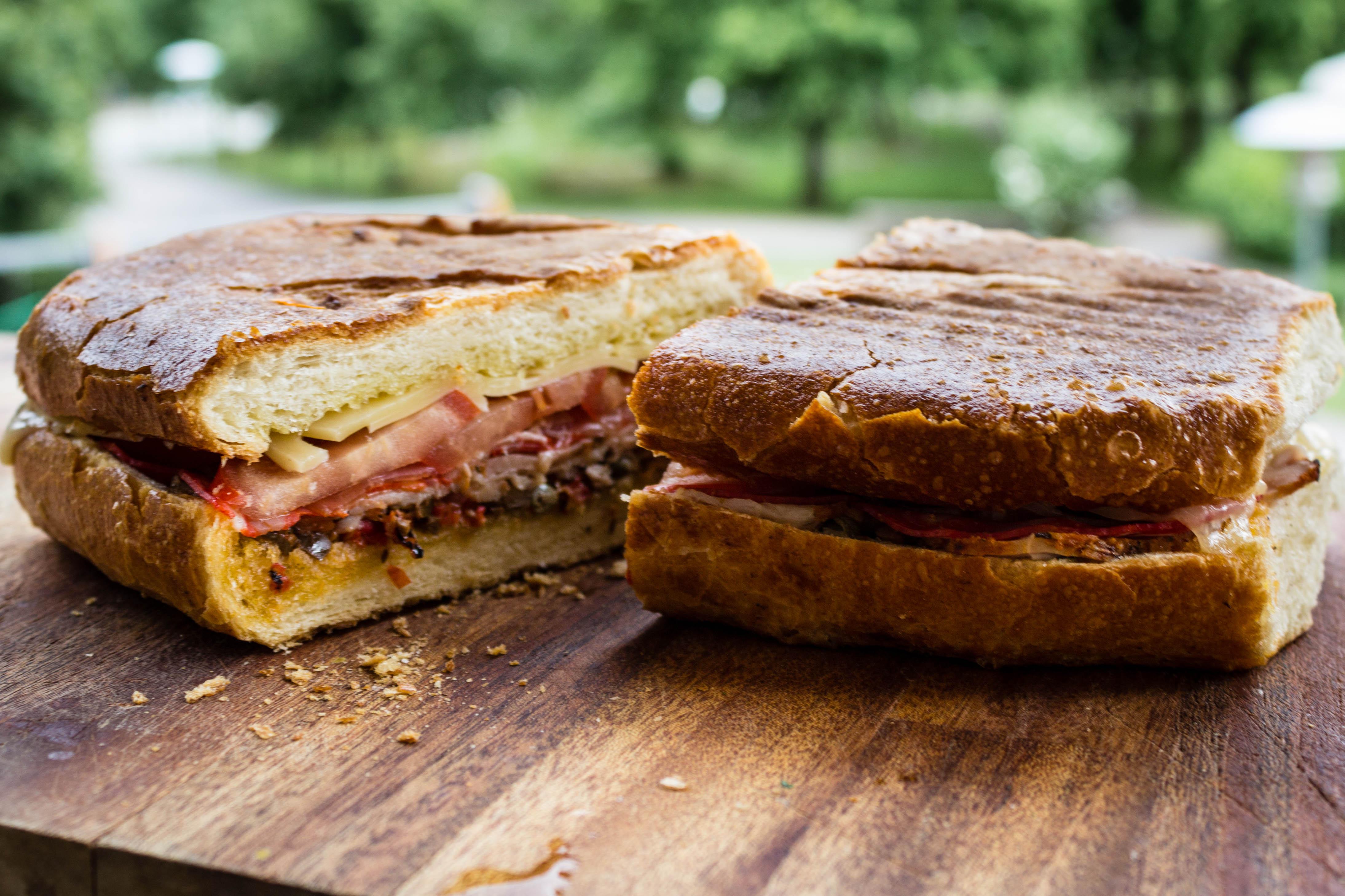 Grymt god grillad smörgås