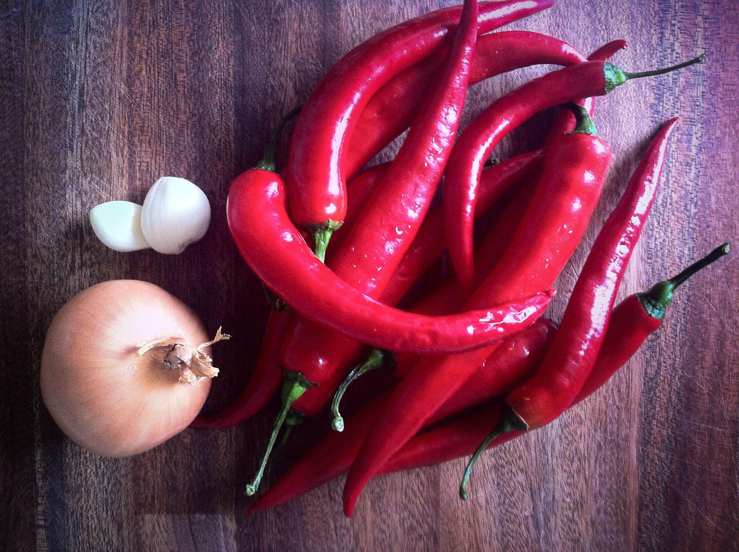 Regelbundet intag av chili leder till längre och friskare liv