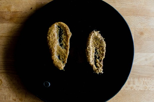 Hemgjord grovkornig senap