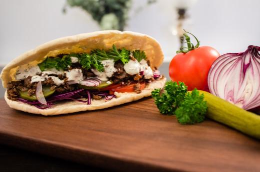 Den bästa hemgjorda kebaben