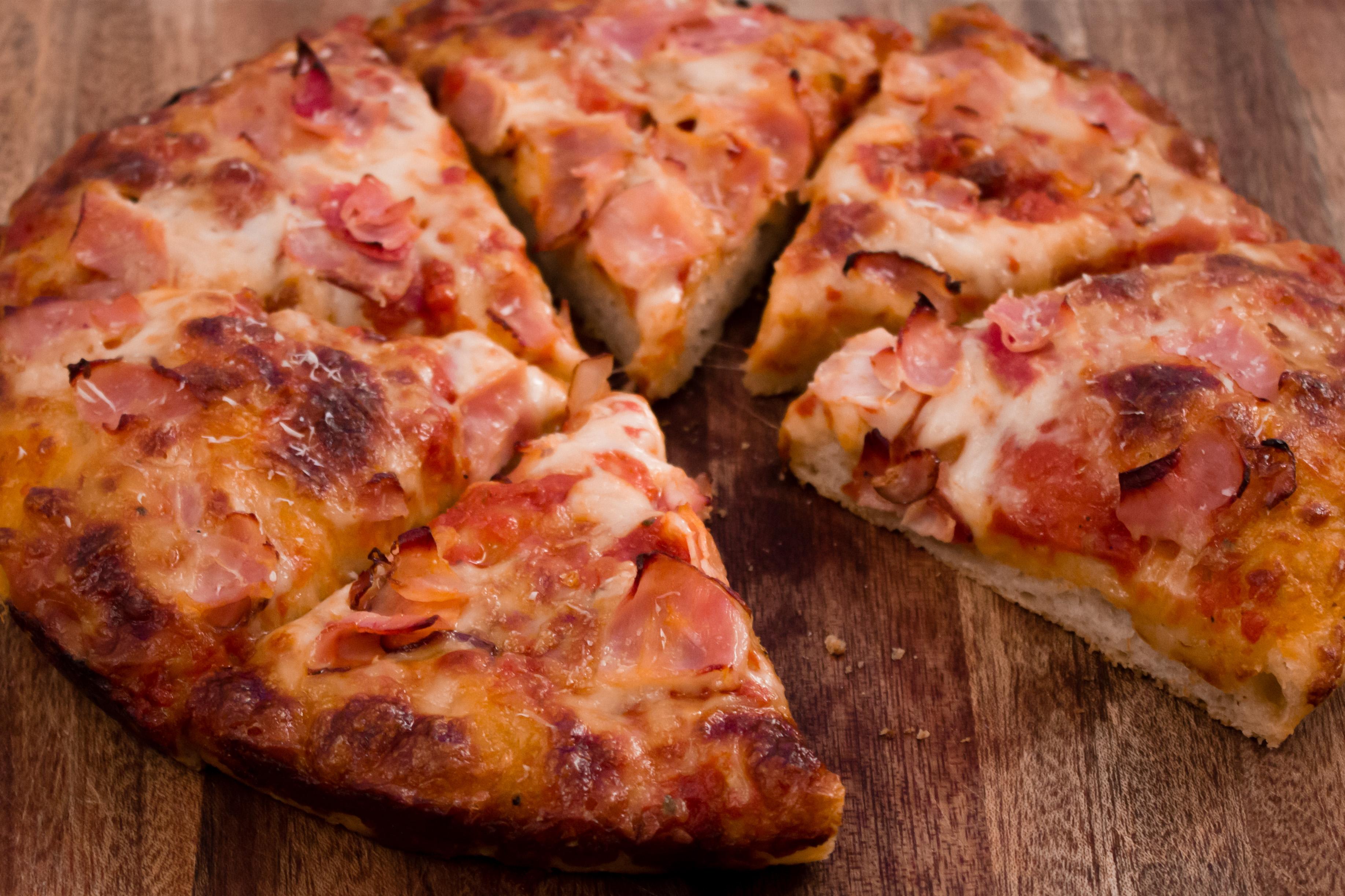 Hemgjord panpizza