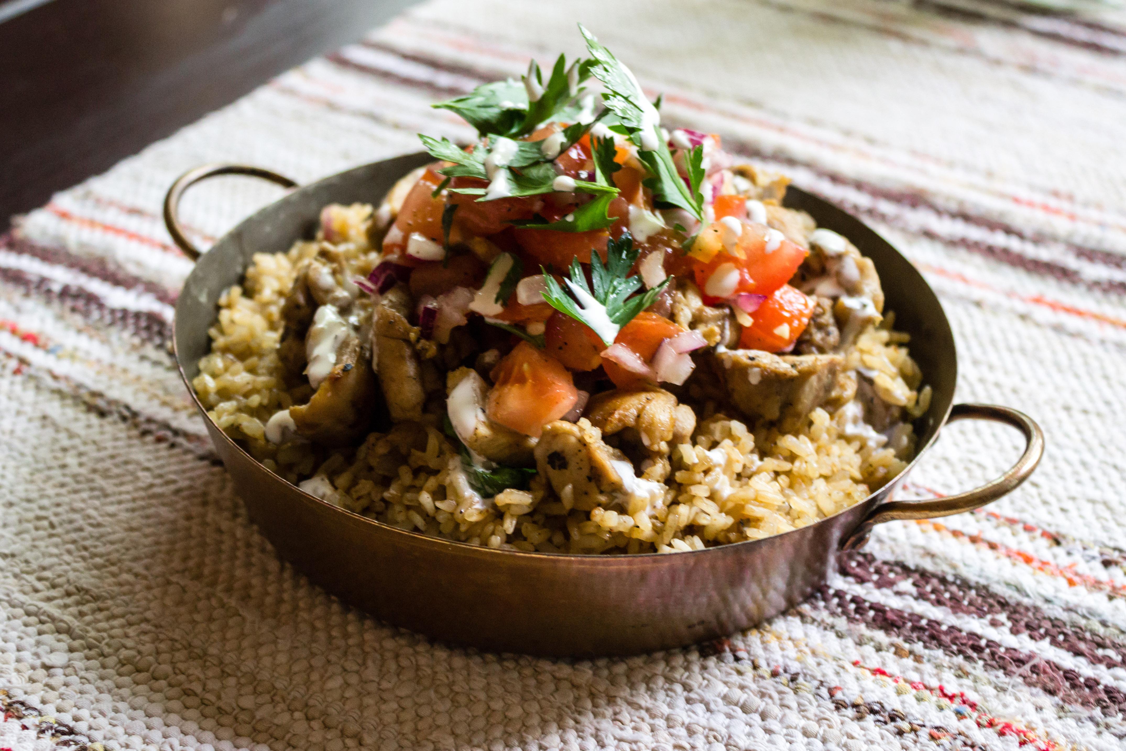 Chicken & Rice –gatumatsklassiker från New York