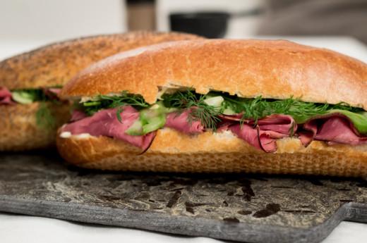 New York-inspirerad smörgås