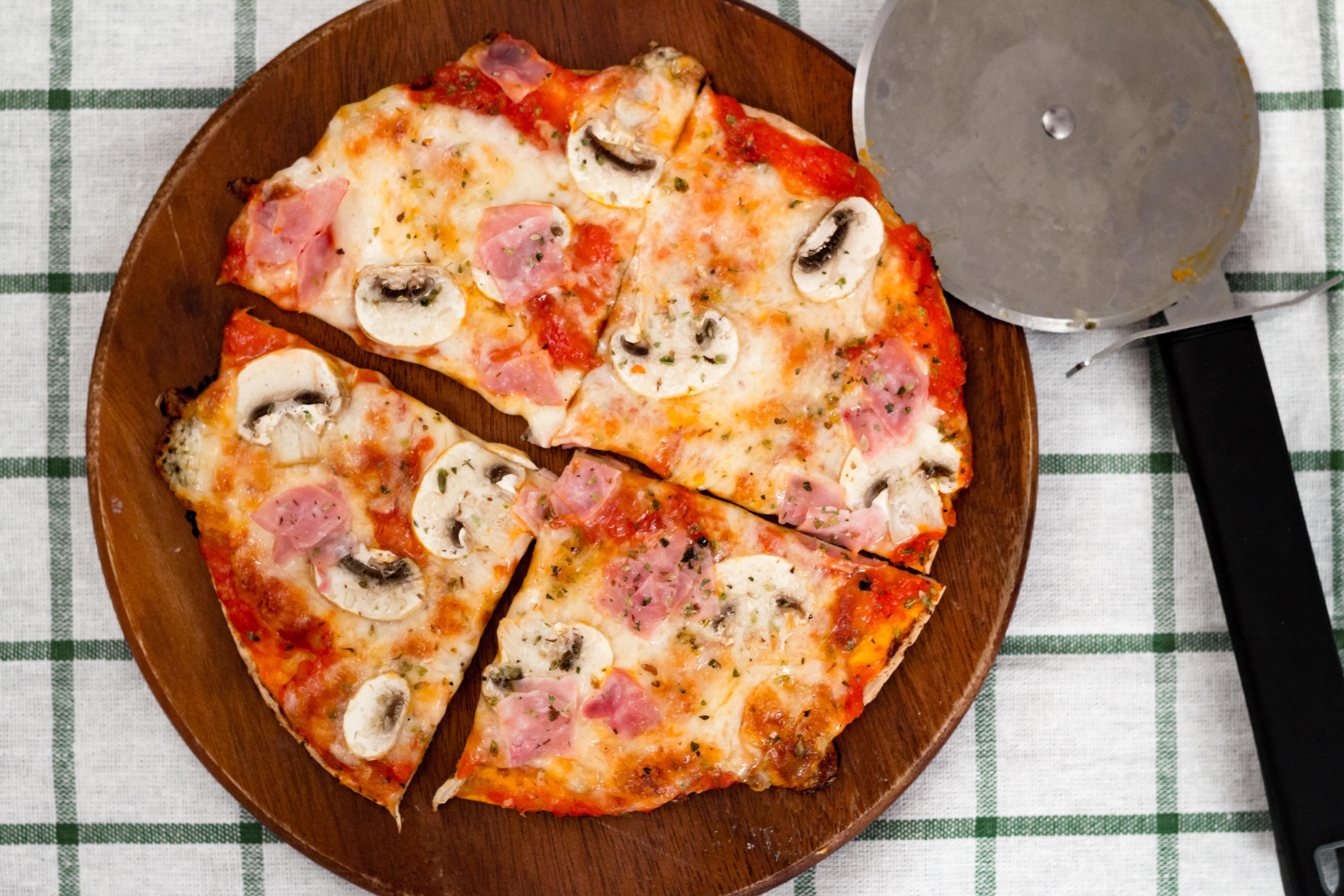 Tortillapizza – Capricciosa | Foto: Robin Karlsson