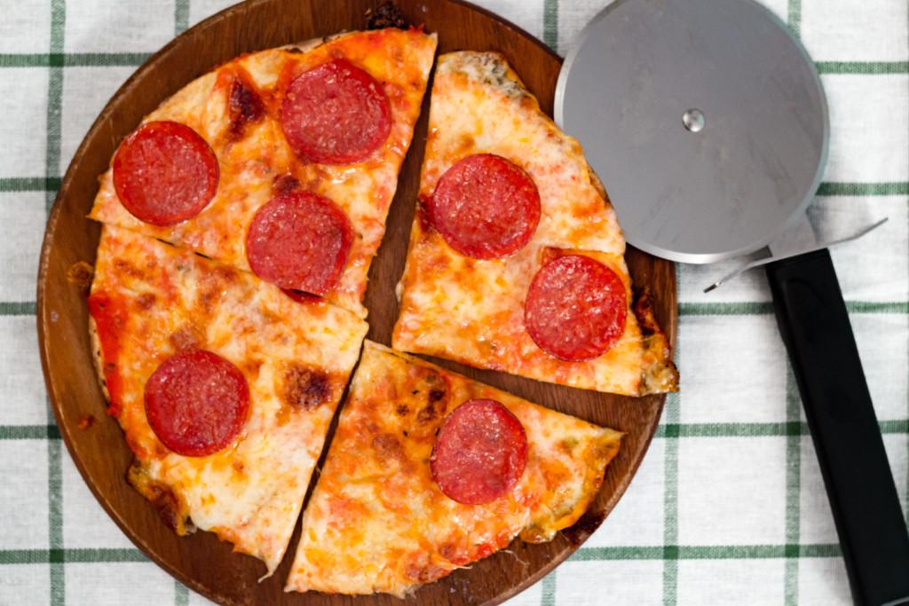 Tortillapizza – Pepperoni