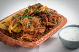 Bhaji – kryddiga friterade lökbollar från Indien