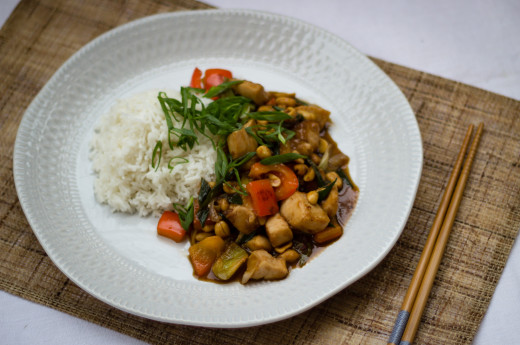 Kung Pao-kyckling