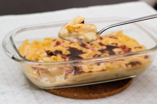 Mac & cheese med bacon
