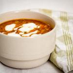 Mustig och värmande linssoppa med curry